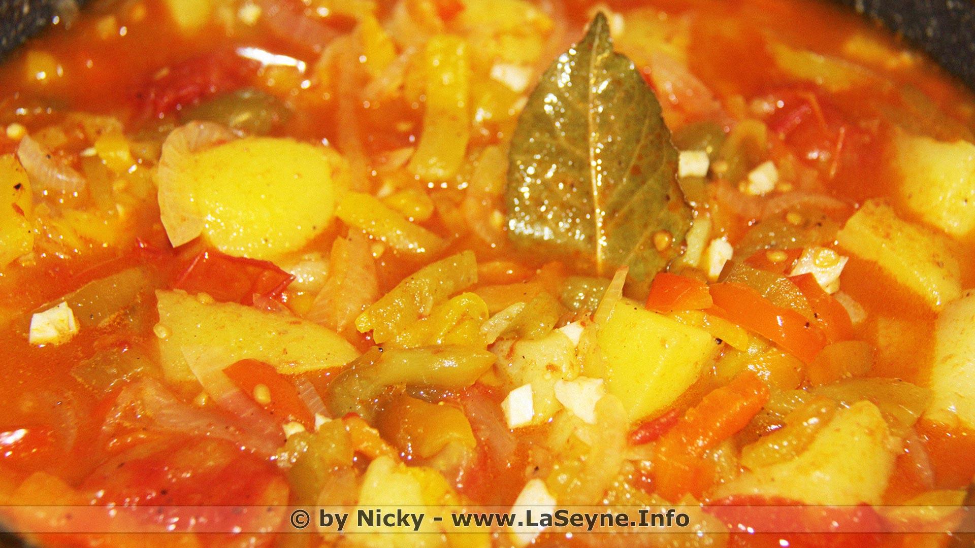 Fruits et Légumes du Mois de Septembre - Une Ratatouillette by Nicky