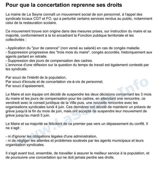 Grève: Mai - Juin 2018 à La Seyne