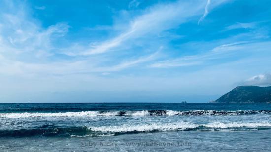 La Mer vu des Sablettes