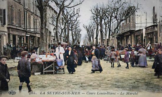 Le Cours Louis Blanc jadis
