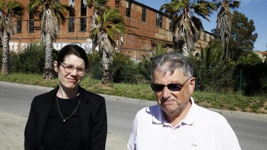 Robert Durand, président de la Confédération Environnement Méditerranée, aux côtés de l'avocate de l'association, Lizzie