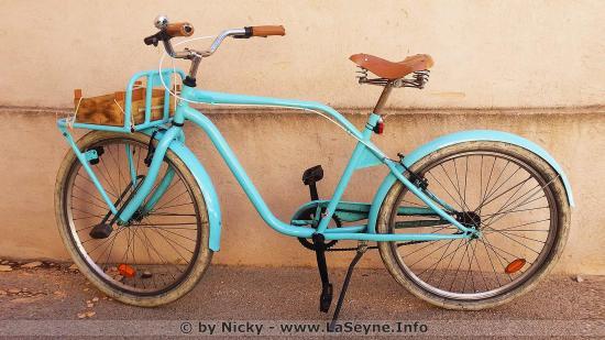 Un Vélo Banette au Clos Saint Louis