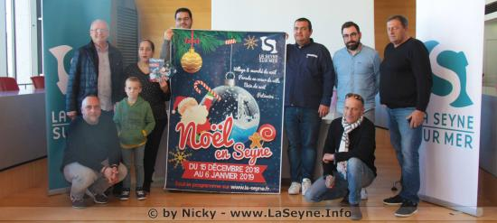 Festivités de fin d'année 2018 à La Seyne