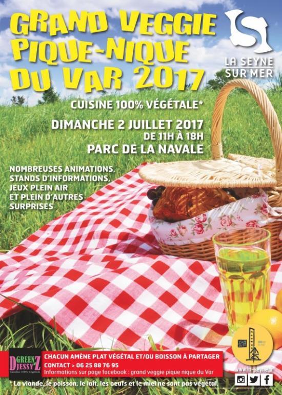 Grand Veggie Pique-Nique - le Dimanche 02 Juillet 2017
