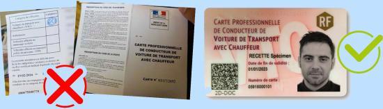 1er Mars 2020: Fin des Cartes non sécurisées des Conducteurs VTC
