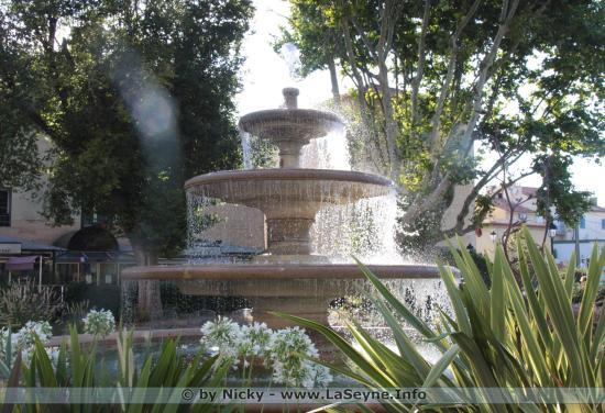 La Fontaine Rue Louis Verlaque à La Seyne sur Mer