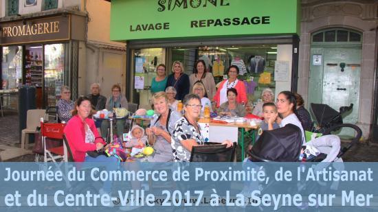 La Seyne sur Mer - Journée nationale du Commerce de Proximité, de l'Artisanat et du Centre-Ville 2017
