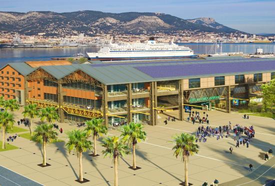 Le Futur Cinéma Multiplexe de La Seyne sur Mer