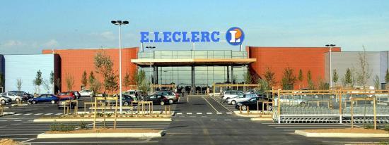 Le magasin E.Leclerc de Seclin (Nord), où a été vendu du lait infantile potentiellement contaminé