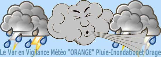Météo Orange