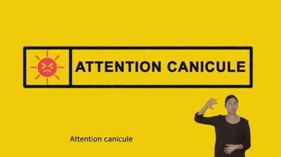Attention Canicule - Fortes Chaleurs et Départs en Vacances