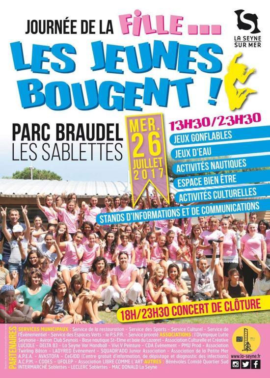 La Journée de la Fille 2017 par le Service Jeunesse de La Seyne sur Mer
