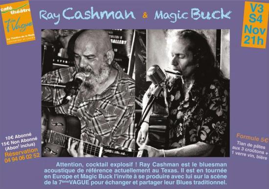 Ray Cashman & Magic Buck