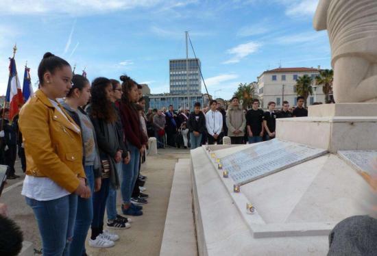 Les cérémonies du 11-Novembre 2017 à La Seyne Photo: J.D.