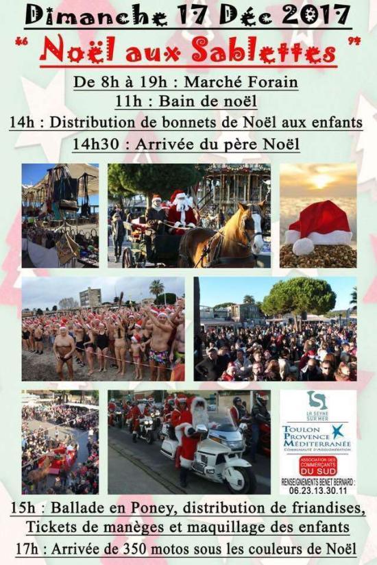 17 décembre 2017 NOEL AUX SABLETTES
