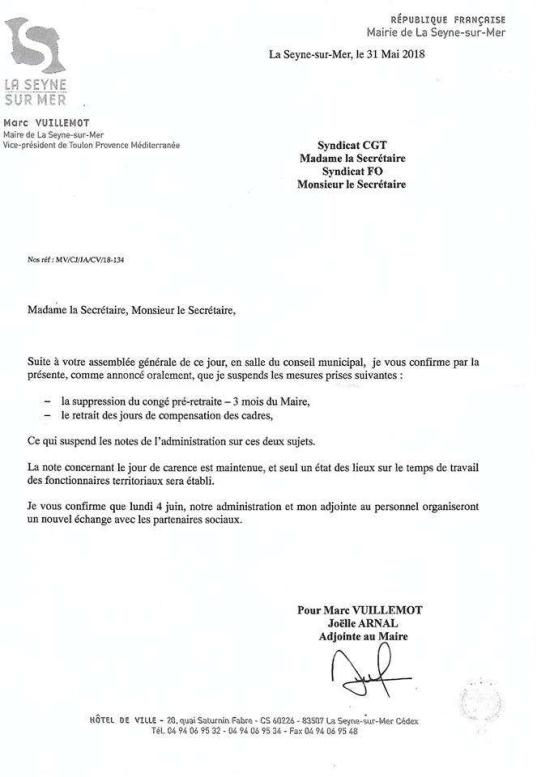 CGT Grève La Seyne