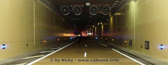 Toulon: Circulation modifiée dans le Tunnel les Nuits 20 au 24/08/2018