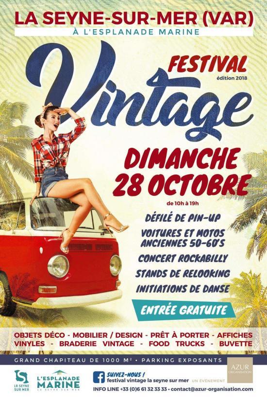 FESTIVAL Vintage 2018 La Seyne sur Mer