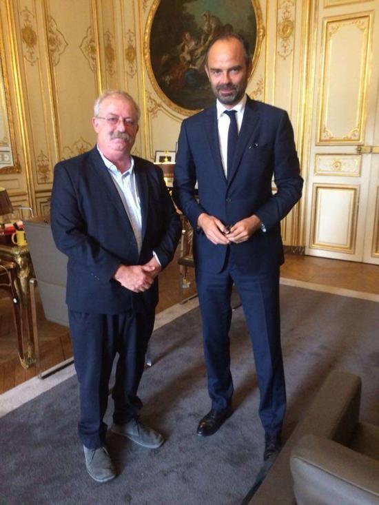 Marc Vuillemot et Edouard Philippe