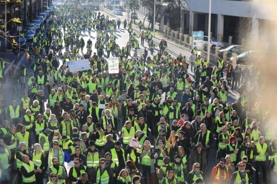 Un Seynois perd un œil lors d'une manifestation de gilets jaunes à Toulon, une enquête en cours