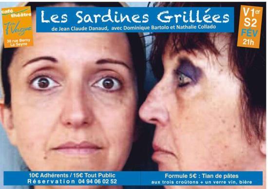 Un drôle de duo féminin les V01 & S02/02/2019 au Café-Théâtre 7ème Vague