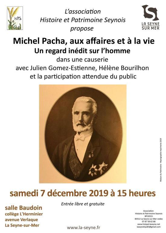 causerie le 7 décembre 2019 salle Baudoin collège L'herminier