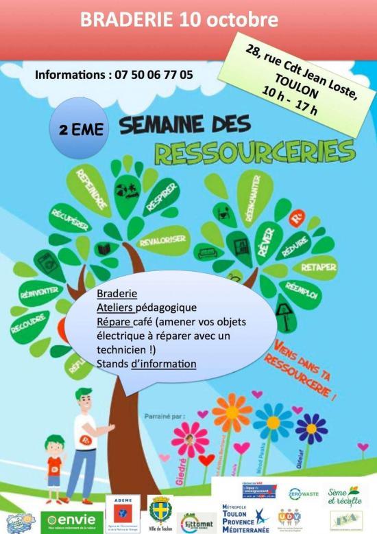 Semaine nationale des ressourcerie Toulon
