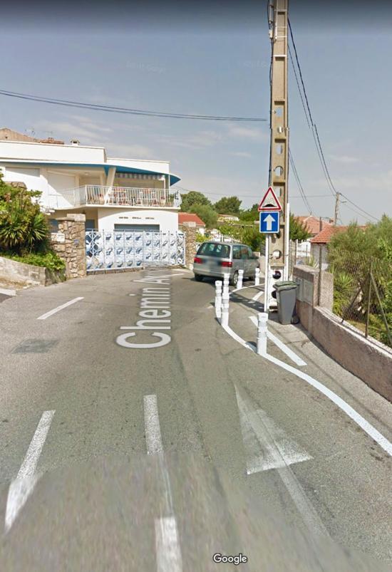 Travaux Chemin Arnaud: Mise en Place d'un Feu tricolore, le 17 Décembre 2018