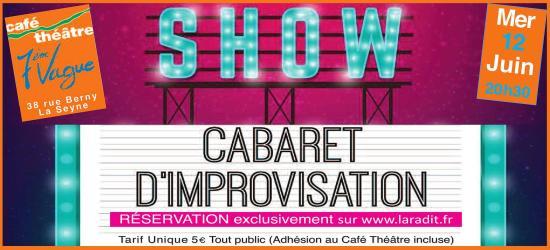 """""""La Rade Improvisation Théâtrale"""" (la Radit): Impro Ciné le 12/06/2019"""