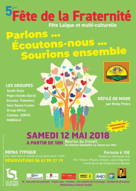 12 Mai 2018 à La Seyne sur Mer,La 5ème Fête de la Fraternité