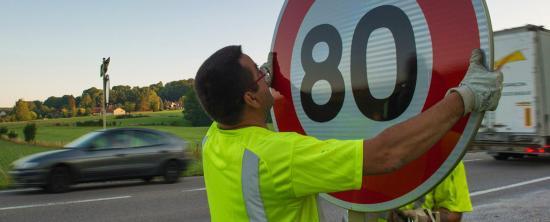 Vitesse maximale autorisée de 90 à 80 km/h publié au Journal officiel de ce Jour