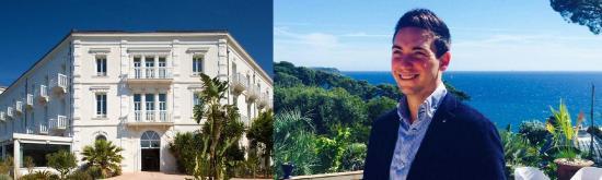 Les Sablettes: Adrian Lelièvre, plus jeune DG d'un Hôtel Hilton au Monde à 26 Ans