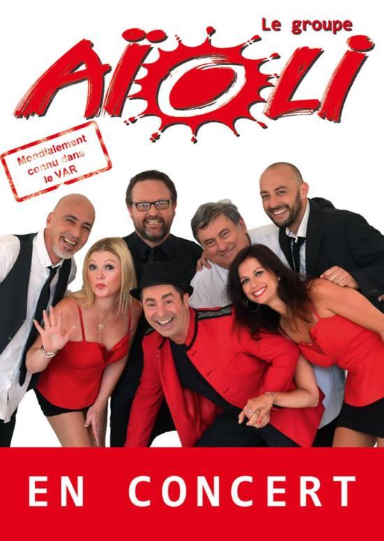 Concert: Le Groupe Aïoli live sur Seyne, les 13 et 30 Août 2018 aux Sablettes