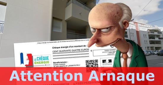 Attention Arnaque: Démarchages frauduleux aux Chèques Energie à La Seyne
