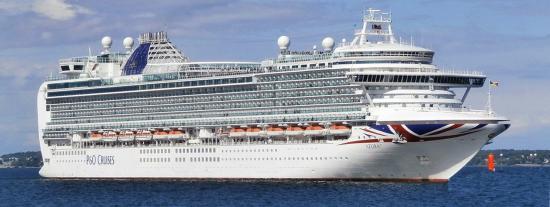 Le Capitaine du Bateau de Croisière Azura P&O-Ferries entendu par les Gendarmes