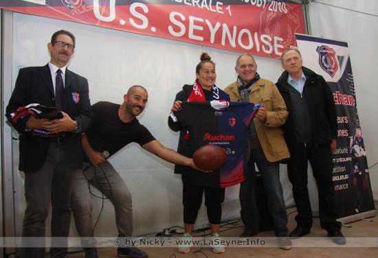 Les Black Ferns (Rugbywomen des All Blacks) à La Seyne à l'Occasion de la Tournée internationale d'Automne de Rugby