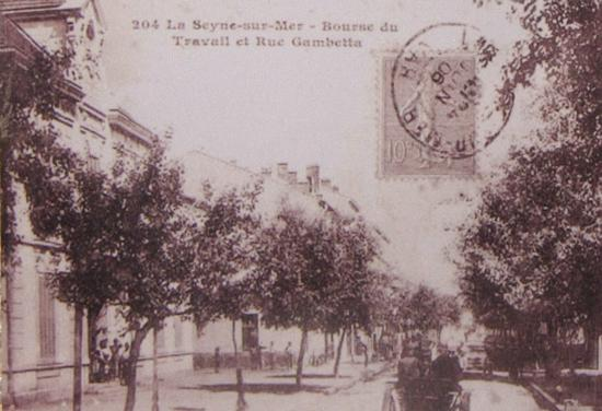 La Seyne sur Mer - La Bourse du Travail