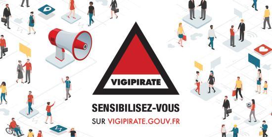 Lancement de la Plateforme de Sensibilisation Vigipirate.gouv.fr