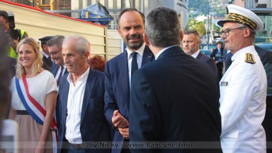 Édouard PHILIPPE à Toulon Jeudi 13/09/2018, Mais pas à La Seyne ... le Maire seynois furieux !