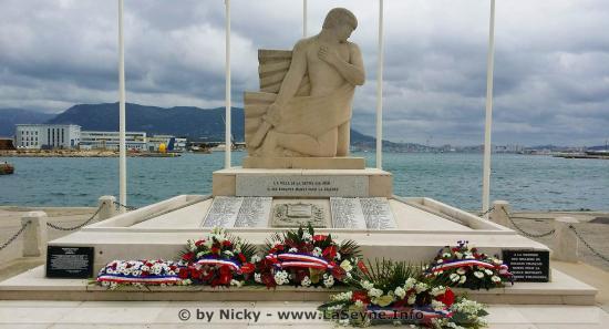 Célébration de la Victoire du 08 Mai 1945, le Mercredi 08/05/2019 à La Seyne sur Mer