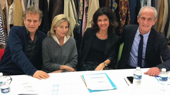 Charles Berling, Claire Chazal, Pascale Boeglin et Hubert Falco