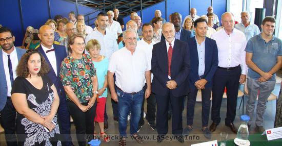Comité de Jumelage: Réception des Délégations tunisienne, estonienne et italienne, le 13/07/2019