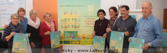 Le Concours des Jardins et Balcons fleuris 2019 à La Seyne