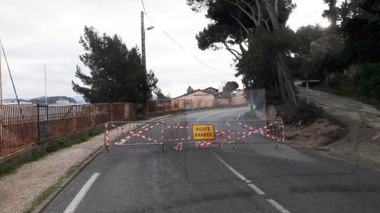 Circulation: Fermeture provisoire de la Corniche Giovannini