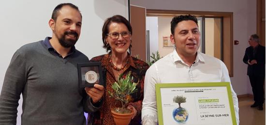 La Seyne confirme sa 3ème Fleur et décroche le Prix spécial régional « Démarche Nature et Citoyenneté »