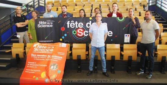 La Fête de la Science 2019, les 04, 05 et 06 Octobre à La Seyne sur Mer