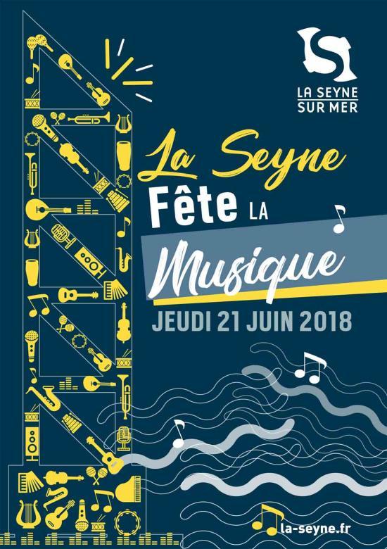 La Fête de la Musique 2018 à La Seyne sur Mer