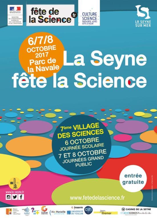 La Fête de la Science 2017 à La Seyne sur Mer