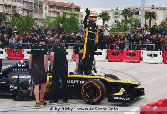 Renault Sport Formule 1 à Toulon