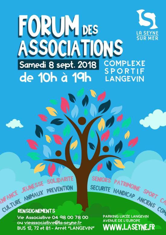 Forum des Associations 2018, Samedi 08 Septembre à La Seyne sur Mer